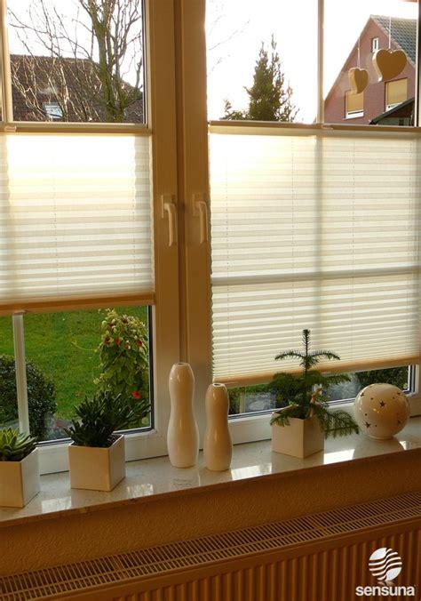 Fenster Sichtschutz Plissee by Sichtschutz Plissee Sensuna 174 F 252 R S Wohnzimmer Fenster