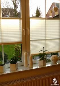 Vorhänge Für Küchenfenster : sichtschutz plissee von sensuna f r 39 s wohnzimmer fenster zuhause pinterest fenster ~ Markanthonyermac.com Haus und Dekorationen
