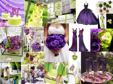 wedding ideas purple and green wedding - Wedding Theme Purple And Green