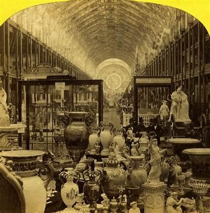 1862 London International Exposition Exhibition Fair Visitors