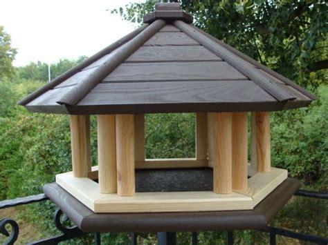 xxl vogelhaus dunkel braun kpmc vogelhaeuschen vogelhaus