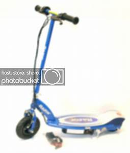 Motorized Scooter  Razor Motor Scooter E100