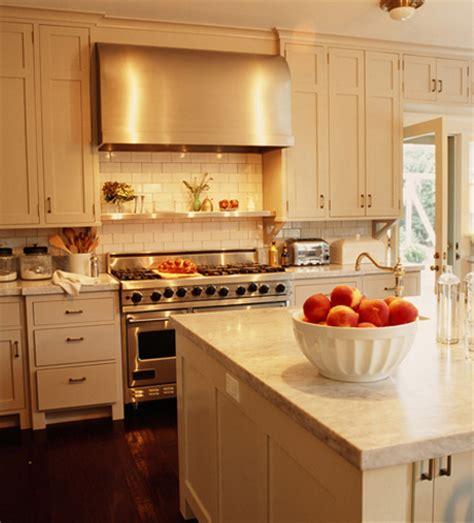 Cream Kitchen Cabinets  Transitional  Kitchen  Kristen