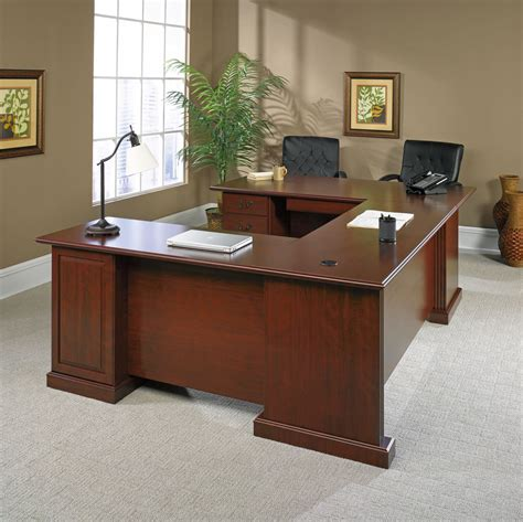 Sauder Heritage Hill Large Executive Desk by Sauder Heritage Hill Outlet Executive U Shaped Desk 72