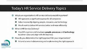 The art & science of hr service delivery 2015 ihrim annual ...