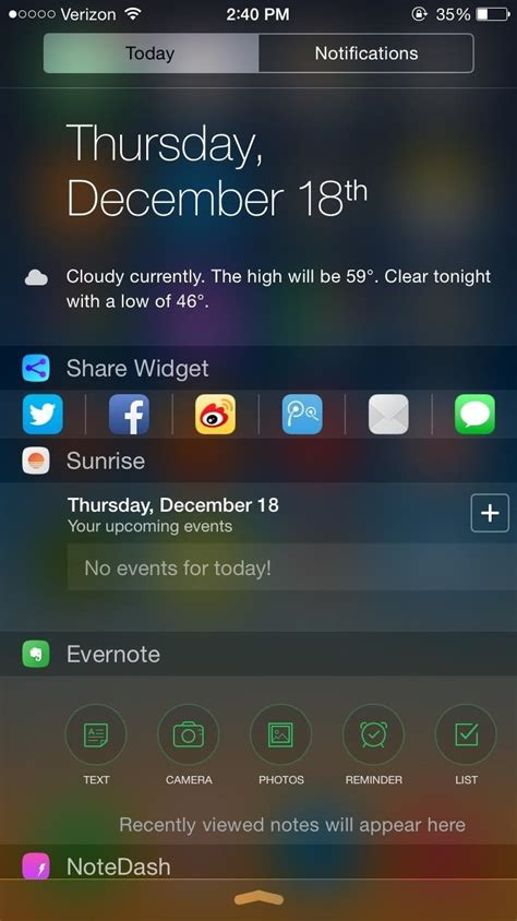 notification center iphone the 10 best notification center tweaks for your iphone
