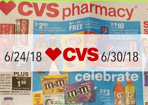 Cvs Sales by Cvs Sales Ad Scan 6 24 18 6 30 18 Here S Your Savings