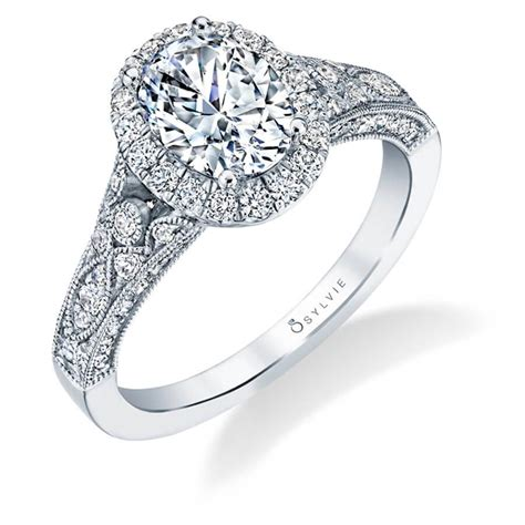 cheri vintage inspired oval engagement ring sylvie
