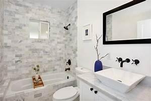 salle de bain marbre blanc pour afficher une classe With salle de bain design avec vasque en marbre blanc