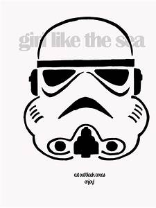 stormtrooper stencil by girl like the sea - just you know ...