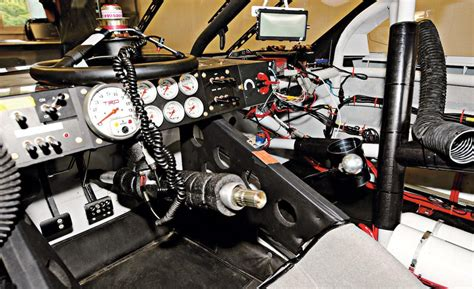Rally Car Interior