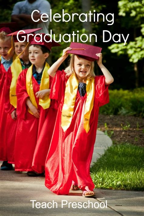 celebrating graduation day in preschool teach preschool 463 | Celebrating Graduation Day by Teach Preschool