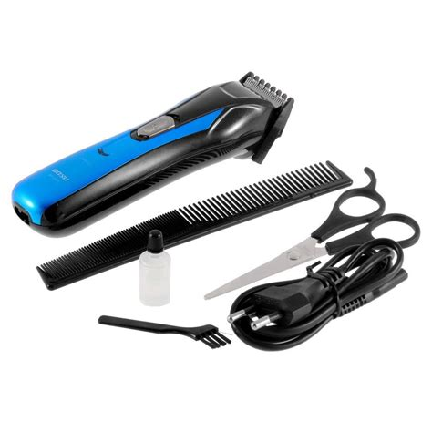 electric rechargeable shaver beard trimmer razor hair clipper kl