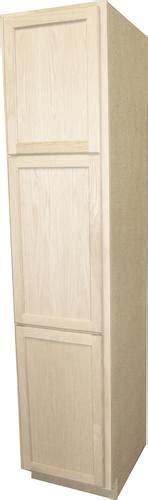 menards kitchen cabinets unfinished quality one 18 quot x 84 quot unfinished oak utility cabinet at 7433