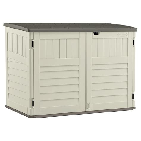 Suncast Horizontal Utility Shed 20 Cu Ft by Compare Miscellaneous Suncast Resin Horizontal Utility