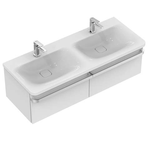 lavabo vasque 120 ideal standard k0870 vanity basin 120 cm with 2 tap holes