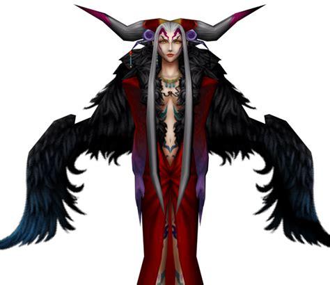 psp dissidia final fantasy ultimecia  models