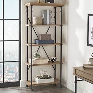 Better homes and gardens river crest 5 shelf bookcase for Better homes and gardens shelves