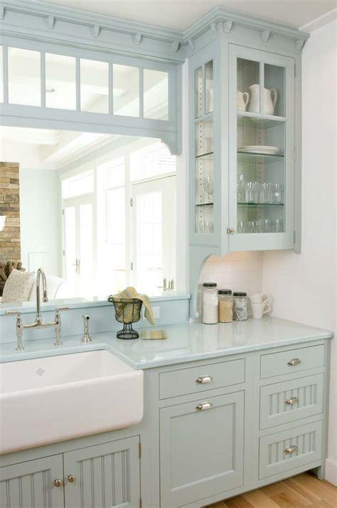 Beauty Salon Sinks by 23 Gorgeous Blue Kitchen Cabinet Ideas