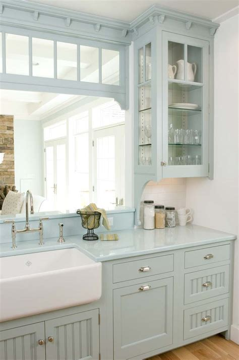Country Ideas For Kitchen - 23 gorgeous blue kitchen cabinet ideas