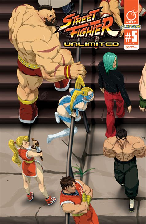 Comics Street Fighter Unlimited 5 Debuts With Four