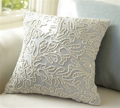 all over coral decorative pillow pottery barn family