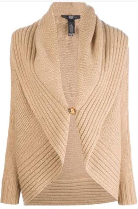 Please select a gender to shop. Ralph Lauren Black Label Shawl Collar Cardigan | Grace ...