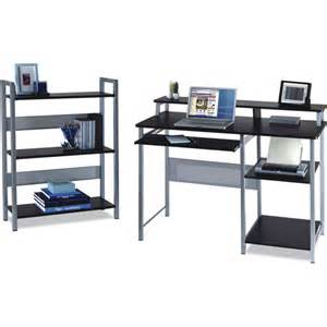 mainstays desk with bookcase furniture walmart