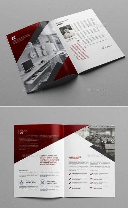 company profile design templates  contoh desain brosur
