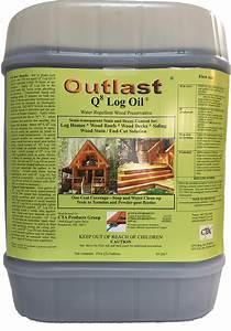 Light Or Dark Deck Stain Outlast Q8 Log Oil Wood Preservative Finish Logfinish Com
