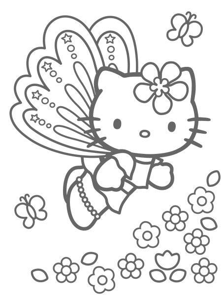 coloriage a imprimer hello papillon gratuit et colorier