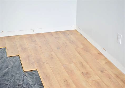easiest laminate flooring  install