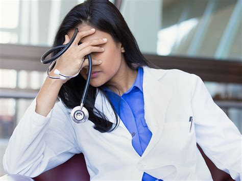 doctor crying    tolerated   premises