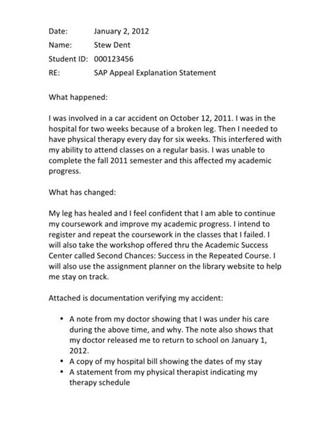 sap appeal letter satisfactory academic progress what it is how to appeal 25993