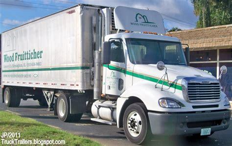 truck trailer transport express freight logistic diesel