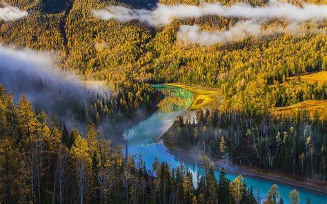 Kanas Lake Xinjiang China Travel Photo Hd Wallpaper Album
