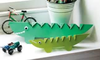 Crocodile Papercraft