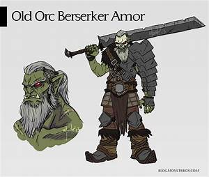 ARMOR REQUEST : Old Orc Berserker ( DETAILED CONCEPT