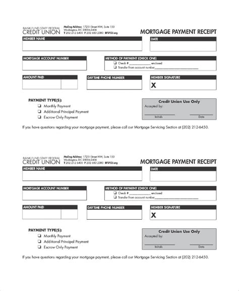 payment receipt samples  word excel pages