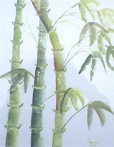 BAMBOO, LEAVES, PLANT, PAINTING, IMAGE, ART, PAINT ...