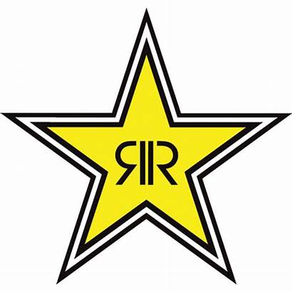 Rockstar Logos Vector Logotipo Pegatinas Tipografico Moto