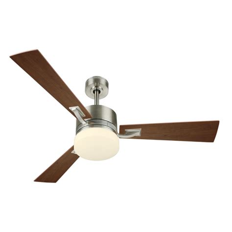 new harbor breeze impact 52 quot brushed nickel ceiling fan