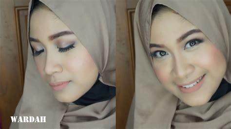 Tutorial Make Up Natural Hijab Wardah Saubhaya Makeup