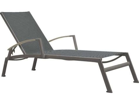 tropitone valora aluminum sono chaise lounge with arm accents 2a1332