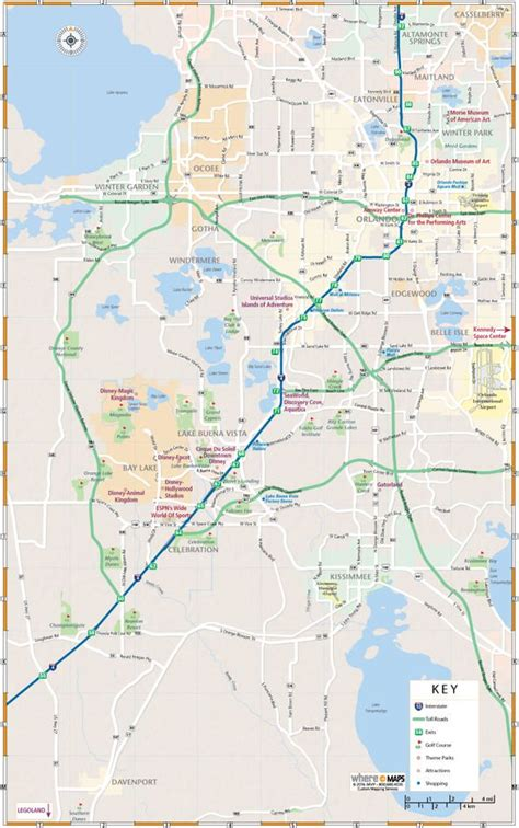 map  greater orlando interactive  printable maps