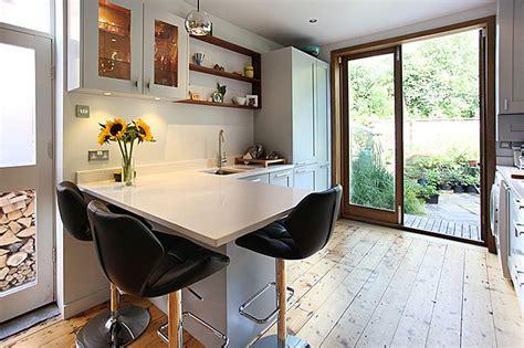 small eat  galley kitchen   doorways idea