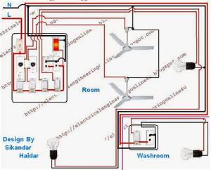 Wire A Room And Washroom In Home Wiring