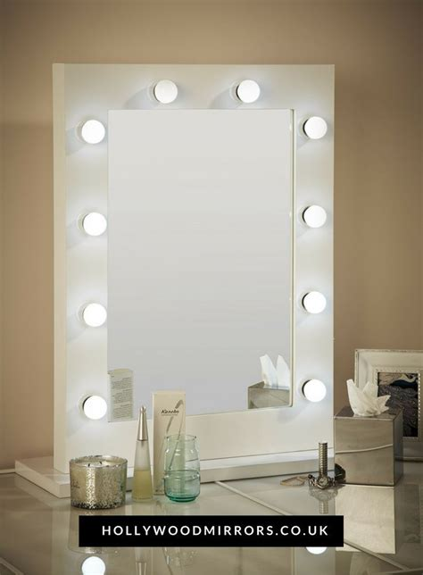 white desk with mirror and lights 17 best ideas about white gloss dressing table on