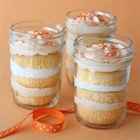 cupcake in a jar recipe orange dreamsicle cupcakes in a jar glorious treats