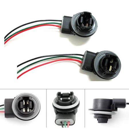 Ijdmtoy Wiring Harness Sockets For Led Bulbs